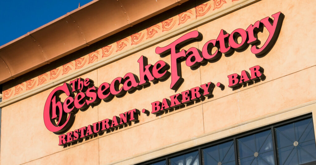The Cheesecake Factory has shared 19 of its recipes so you can make them at home