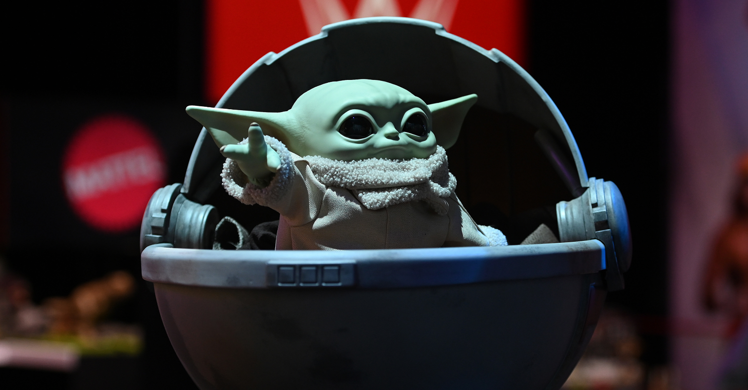 Baby Yoda is officially a part of the Space X crew in the International Space Station