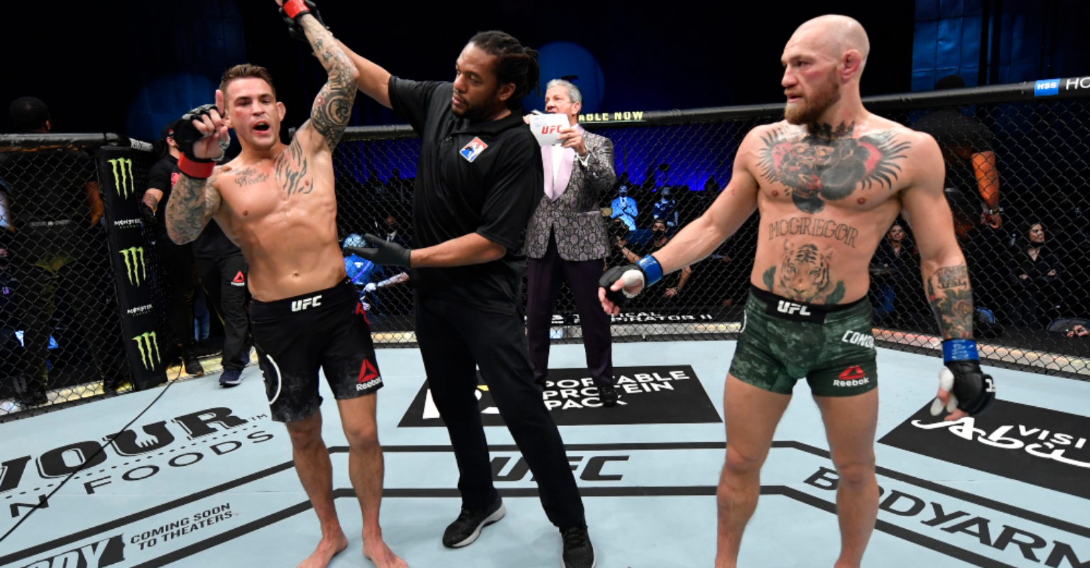 Backstage video exposes brutal damage Conor McGregor took in KO loss to Dustin Poirier