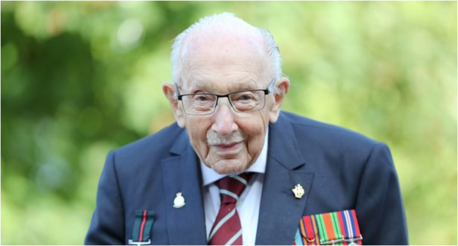 Captain Sir Tom Moore has passed away at the age of 100 after testing positive for Covid-19