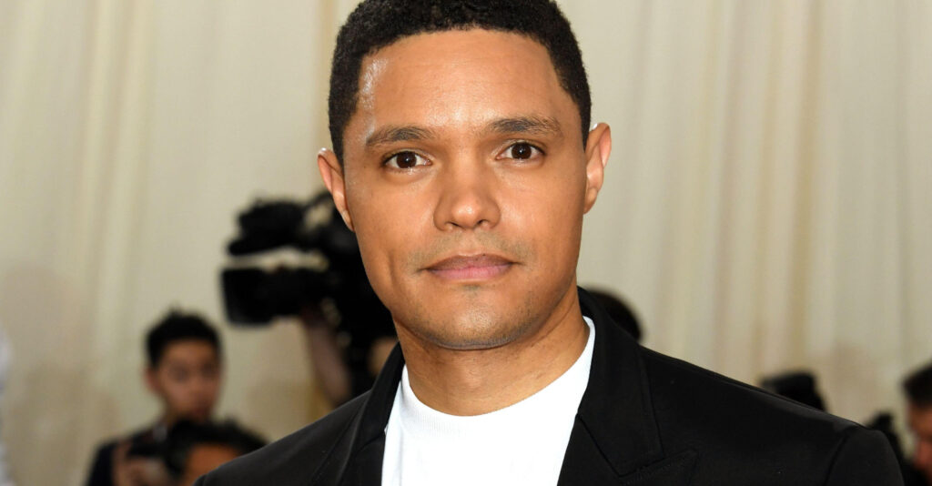 Awkward moment Grammys host Trevor Noah mocked the Royal Family over Meghan Markle and Prince Harry's Oprah interview