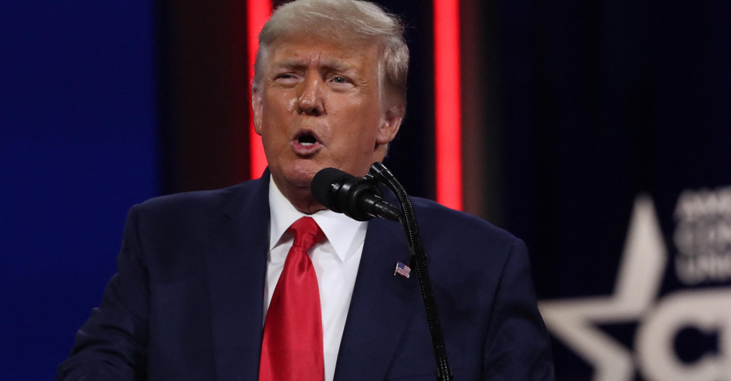 Trump says Biden has had 'the most disastrous first month of any president in modern history'