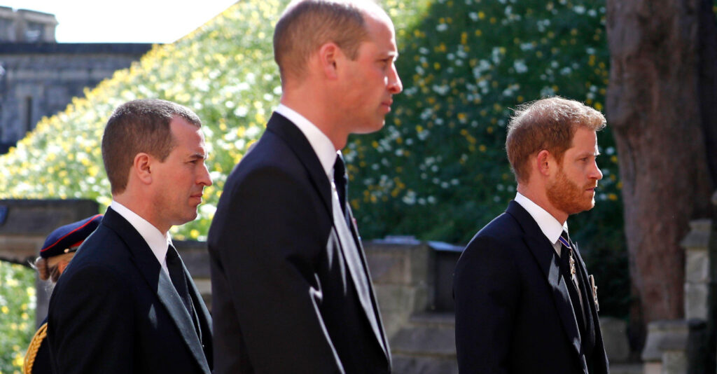 People overjoyed to see Prince William and Prince Harry walking and talking together